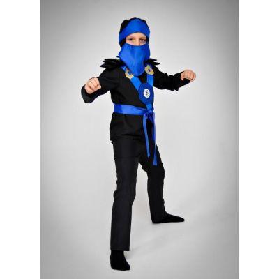 Карнавальный костюм Ниндзя синий №5