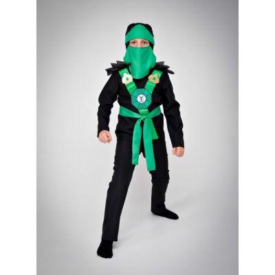 Карнавальный костюм Ниндзя зеленый №5