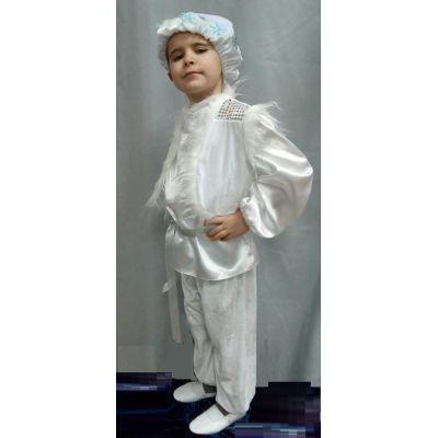 Карнавальный костюм для мальчика Снежок, Снежный Кай прокат