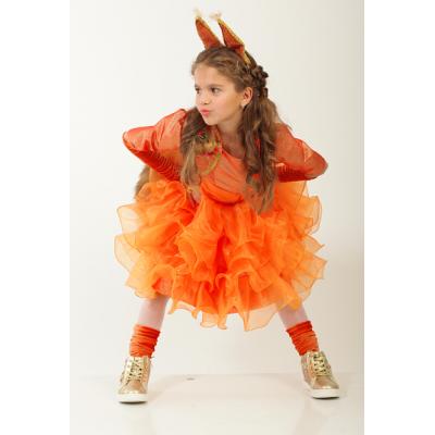 Карнавальный костюм для девочки Белка - Белочка Стиль