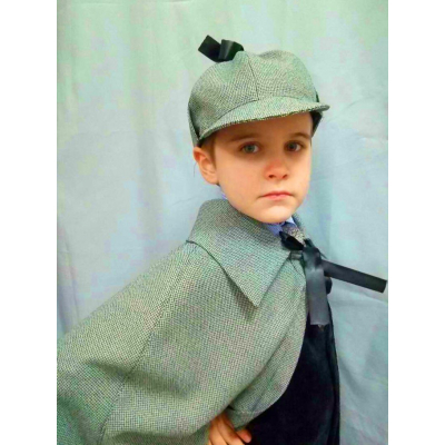 Карнавальный костюм для мальчика Шерлок Холмс (Сыщик) прокат