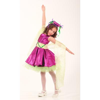 Карнавальный костюм для девочки Елочная Игрушка, Конфета, Хлопушка, Орхидея