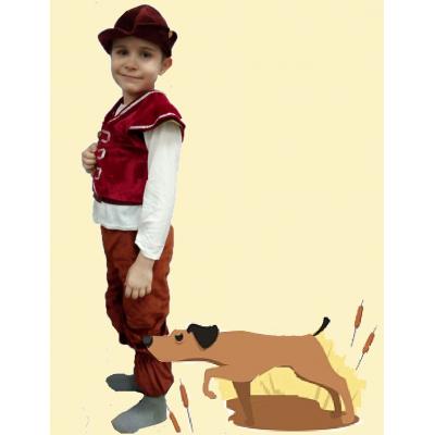 Карнавальный костюм для мальчика Охотник - Лесоруб -  Лесничий 1 прокат