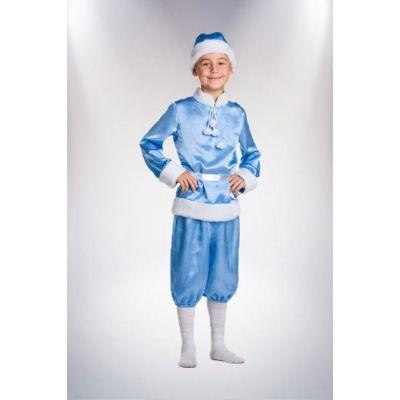 Карнавальный костюм Новый год синий, Морозко№5