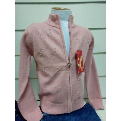 Кофта вязанная для девочки 7027