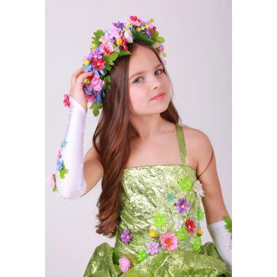 Карнавальный костюм Венок Весна №2