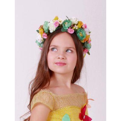 Венок Весна для девочки №4 ТМ Sonechko