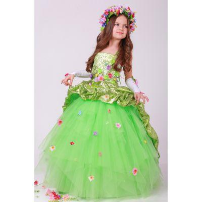 Карнавальный костюм для девочки Волшебница Весна