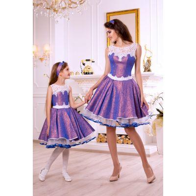 Платье Family look M1703