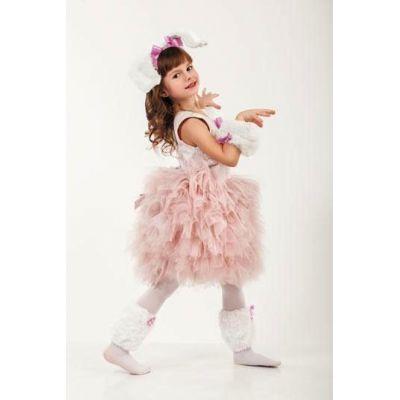 Карнавальный костюм для девочки Собачка Пудель