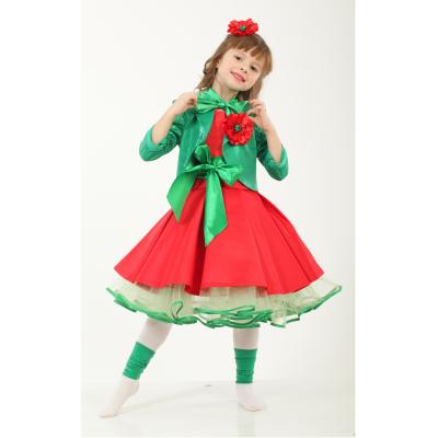 Карнавальный костюм для девочки Цветок Мак