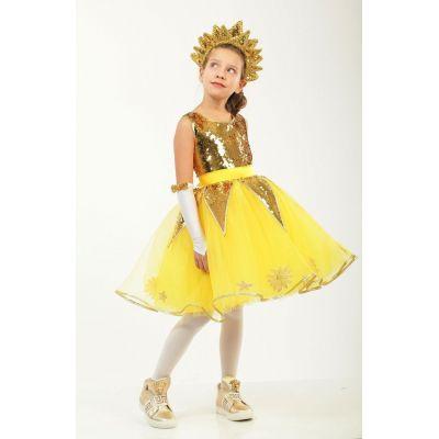 Карнавальный костюм для девочки Солнце - Солнышко