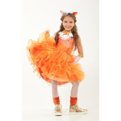 Карнавальный костюм для девочки Лиса Лисичка Стиль