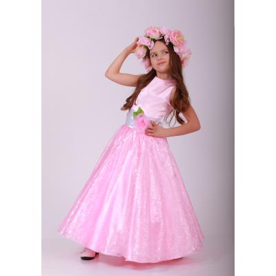 Карнавальный костюм для девочки платье Нежная Весна Прокат