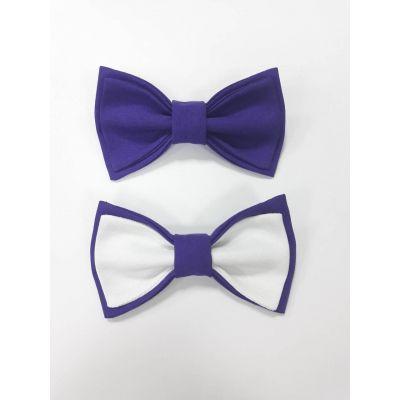 Бабочка для мальчика фиолетовая №2