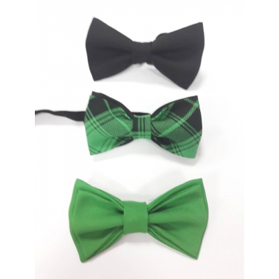 Бабочка для мальчика зеленая №3