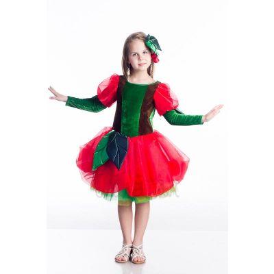 Карнавальный костюм для девочки  Вишня - Вишенка прокат