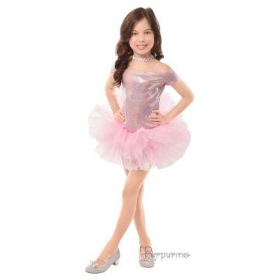 Карнавальный костюм для девочки Балеринка 2133