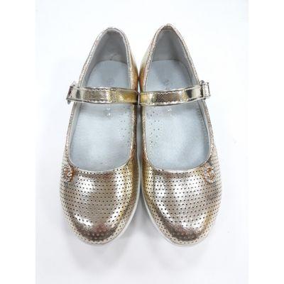 Туфли - лодочки для девочки Украина А120-16 застежка
