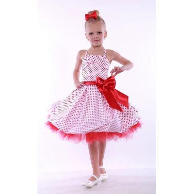 Нарядное платье Стиляги Баллон - Горох 2