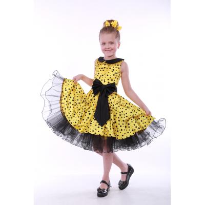 Нарядное бальное платье для девочки Стиляги - 00711