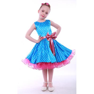Нарядное платье для девочки Стиляги - 005-1