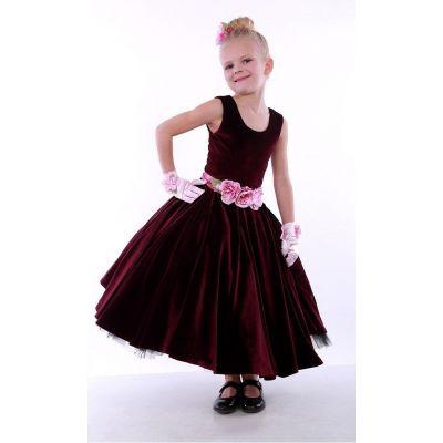 Нарядное бальное платье для девочки 9752