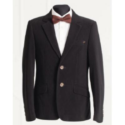 Пиджак школьный для мальчика 217п вельвет черный