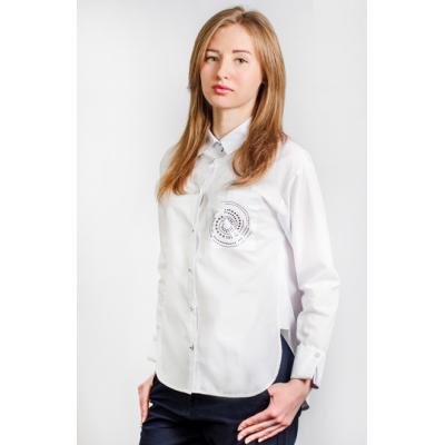 Блуза школьная для девочки Малена 00176