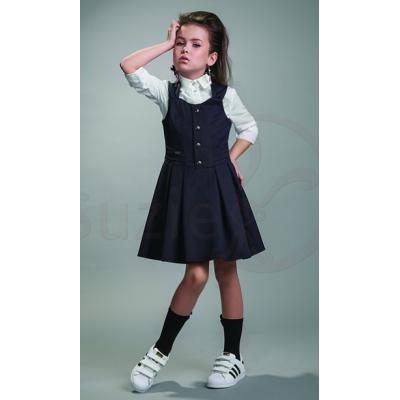 Сарафан школьный Джина черный