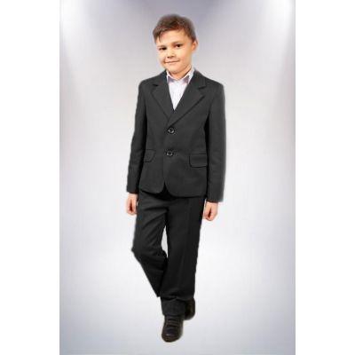 Пиджак школьный для мальчика М8 черный