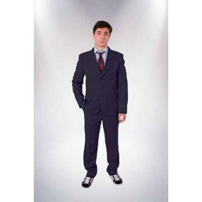 Пиджак школьный подростковый М-8 синий