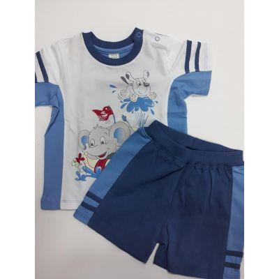 Комплект (футболка и шорты) для мальчика 3ТК015 ЛЯ-ЛЯ