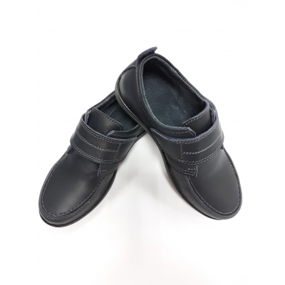 Туфли на липучке МП32 синие ТМ Men's Style