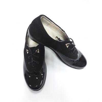 Туфли для девочки черные 3L12