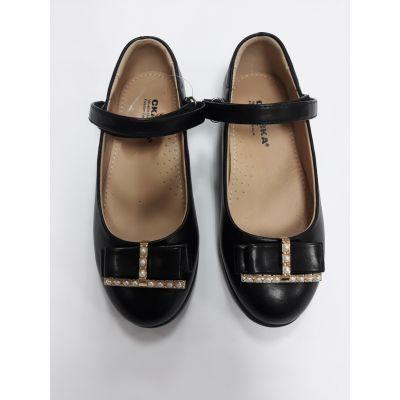 """Туфли для девочки черные """"Сказка"""""""