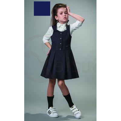 Сарафан школьный для девочки Джина синий