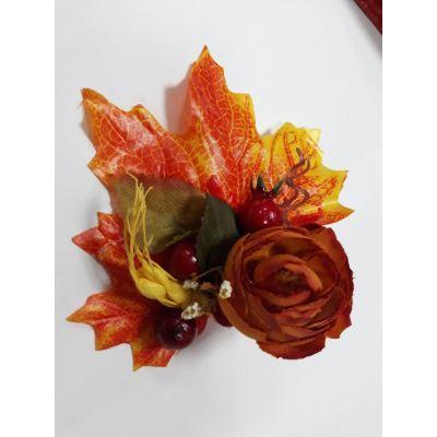 Аксессуар брошка для девочки Кокетка-Осень