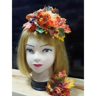 Карнавальный костюм,обруч Кокетка-Осень
