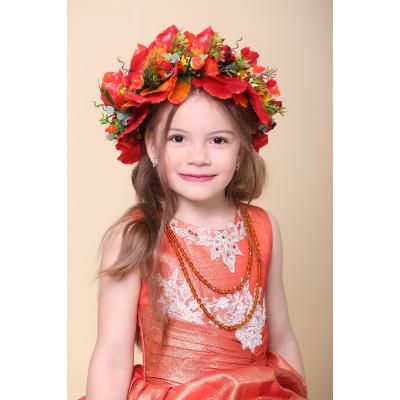 Карнавальный костюм Венок Осенний #1