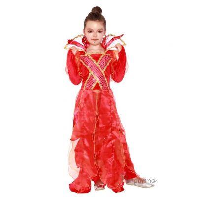 Карнавальный костюм для девочки Феникс арт 2076