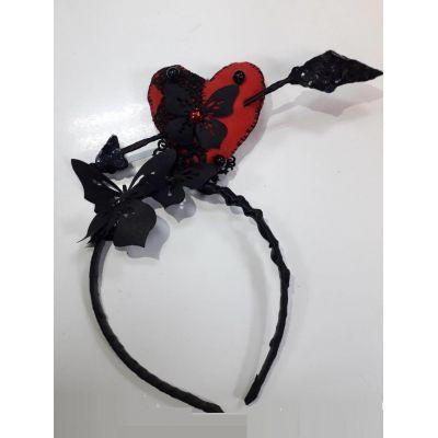Карнавальный костюм - обруч Гламурное сердце