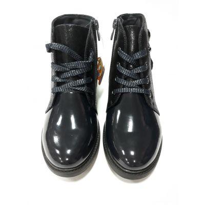 Ботинки для девочки синие Сказка