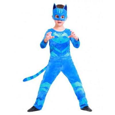 Карнавальный костюм для мальчика Герои в масках Кэтбой 2177