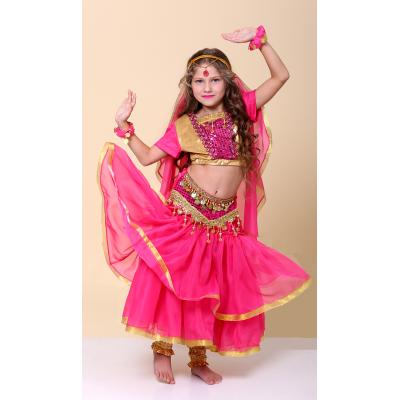 Карнавальный костюм для девочки Индийский национальный костюм, Восток, восточная красавица, Индианка