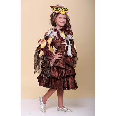 Карнавальный костюм для девочки Сова Стиль прокат