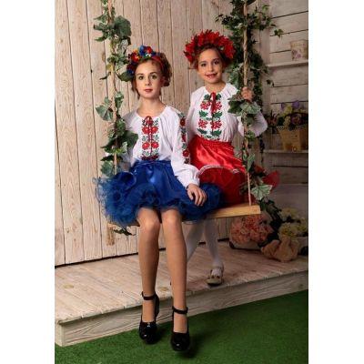 Карнавальный костюм для девочки Украинка (украинский костюм для девочки)