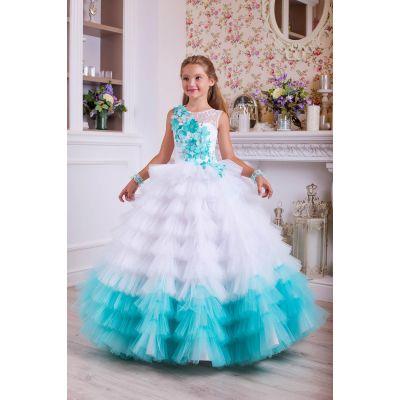 Нарядное платье для девочки 10793