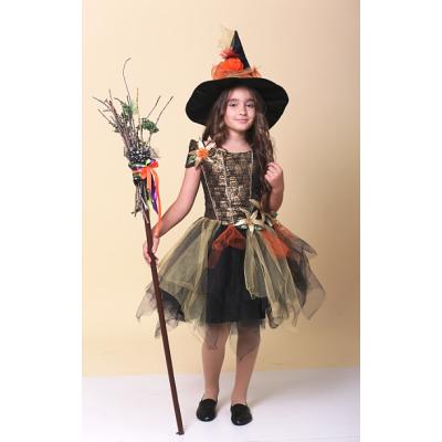 Карнавальный костюм Золотая Ведьмочка, Ведьма
