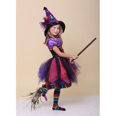 Карнавальный костюм для девочки Супер - Ведьма